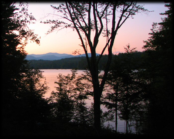 Squam Lake Sunset